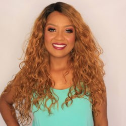 Peruca Front Lace Wig - ISABELA - Caramelo