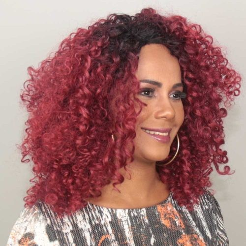 Peruca Front Lace Wig - TAIS